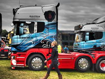 TRUCKFEST 2015 KNUTSFORD dénommant et accordant Image stock