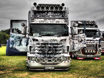 TRUCKFEST 2015 KNUTSFORD styling and tuning Royalty Free Stock Image