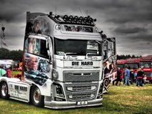 TRUCKFEST 2015 KNUTSFORD styling and tuning Stock Images