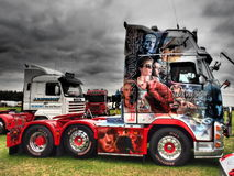 TRUCKFEST 2015 KNUTSFORD styling and tuning Royalty Free Stock Photos