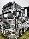 TRUCKFEST 2015 KNUTSFORD styling and tuning Royalty Free Stock Photography