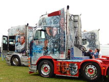 TRUCKFEST 2015 KNUTSFORD styling and tuning Stock Photos