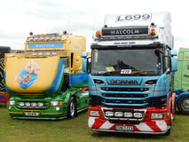 TRUCKFEST 2015 KNUTSFORD styling and tuning Royalty Free Stock Photo
