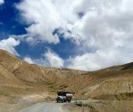 Trucking in leh ladakh Stock Image