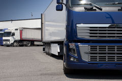 Trucking and logistics Stock Photo