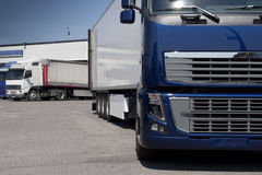 Trucking and logistics Royalty Free Stock Photography