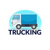 Trucking logo vector illustration Royalty Free Stock Photography