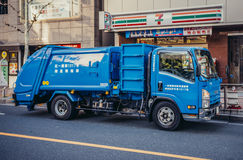 Truckrefuse in Tokyo Royalty Free Stock Photography