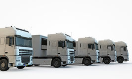 Trucks Royalty Free Stock Image