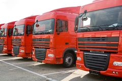 Trucks Royalty Free Stock Photos