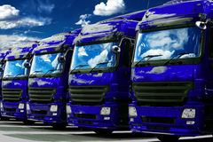 Trucks Royalty Free Stock Photo