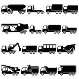 Trucks and giant vehicle. Stock Images