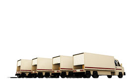 Trucks Stock Photo