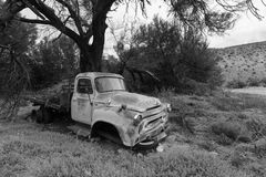 The trucks last rest place Royalty Free Stock Photos