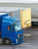Trucks parked. Stock Image
