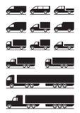 Trucks and pickups Stock Photos