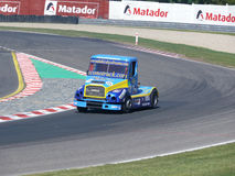 Trucks races Royalty Free Stock Photo