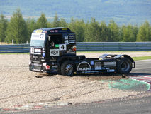 Trucks races Royalty Free Stock Images