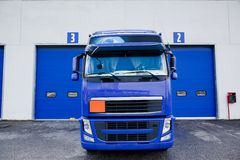 Trucks and tanker Stock Photography