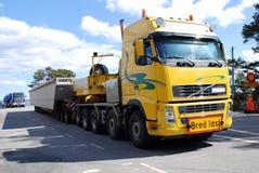 Trucks to transport heavy Stock Image