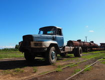 Trucks And Trains Of Cuba Royalty Free Stock Photography