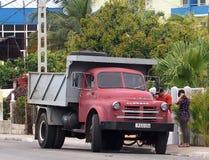 Trucks Of Varadero Cuba Stock Images