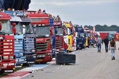 Truckstar festival Arkivfoton