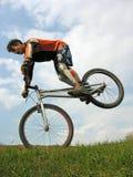 Truco de la bici Fotografía de archivo libre de regalías