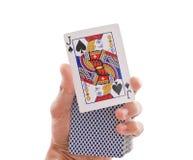 Truco mágico Imagen de archivo libre de regalías