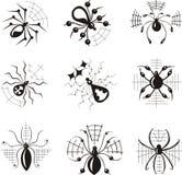 Trucs avec des araignées Image libre de droits