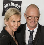 Trudie Styler and Sting Stock Images