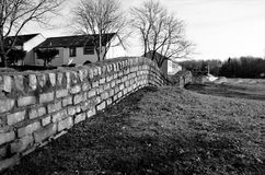 Trudna ściana - Glenrothes punkty zwrotni Zdjęcie Royalty Free