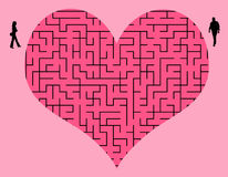 Trudna miłość Obraz Stock