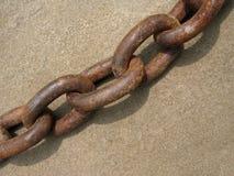 trudno łańcuszkowy żelaza zdjęcie stock