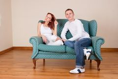 Trudy-Lee et Tommy #11 Images libres de droits