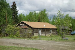 A true alaskan cabin Stock Image