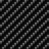 True Carbon Fiber. A realistic carbon fiber texture that tiles seamlessly in a pattern.  A very modern seamless texture for both print and web designs Royalty Free Stock Photo
