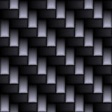 True Carbon Fiber. A realistic carbon fiber texture that tiles seamlessly in a pattern.  A very modern seamless texture for both print and web designs Stock Photography