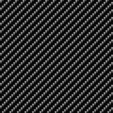 True Carbon Fiber. A realistic carbon fiber texture that tiles seamlessly in a pattern.  A very modern seamless texture for both print and web designs Royalty Free Stock Images