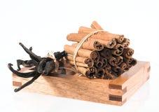 True cinnamon & vanilla Royalty Free Stock Photos