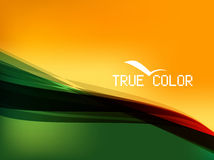 True Color Background. Mix between colored and freedom Royalty Free Stock Image