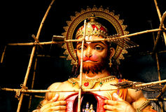 The true devotee of Ram and Sita Stock Images