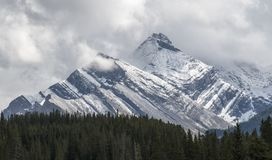 The true gleaming beauty of Kananaskis country Stock Photo