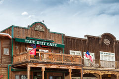 True Grit Cafe Royalty Free Stock Images