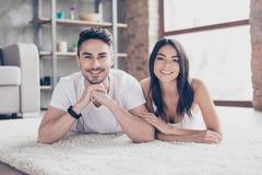 Free True Love. Happy Beautiful Married Latino Mulatto Couple Is Chil Stock Photos - 117702053
