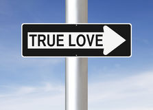 True Love This Way Royalty Free Stock Photography