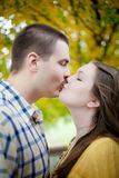True Loves Kiss Stock Photo