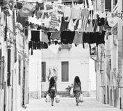 The true not touristic Venice Stock Image