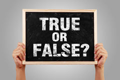 Free True Or False Stock Photos - 69922413