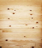 True rustic wooden floor. Rustic wooden floor with natural knots Royalty Free Stock Photography